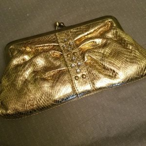 3 for $12*gold small clutch